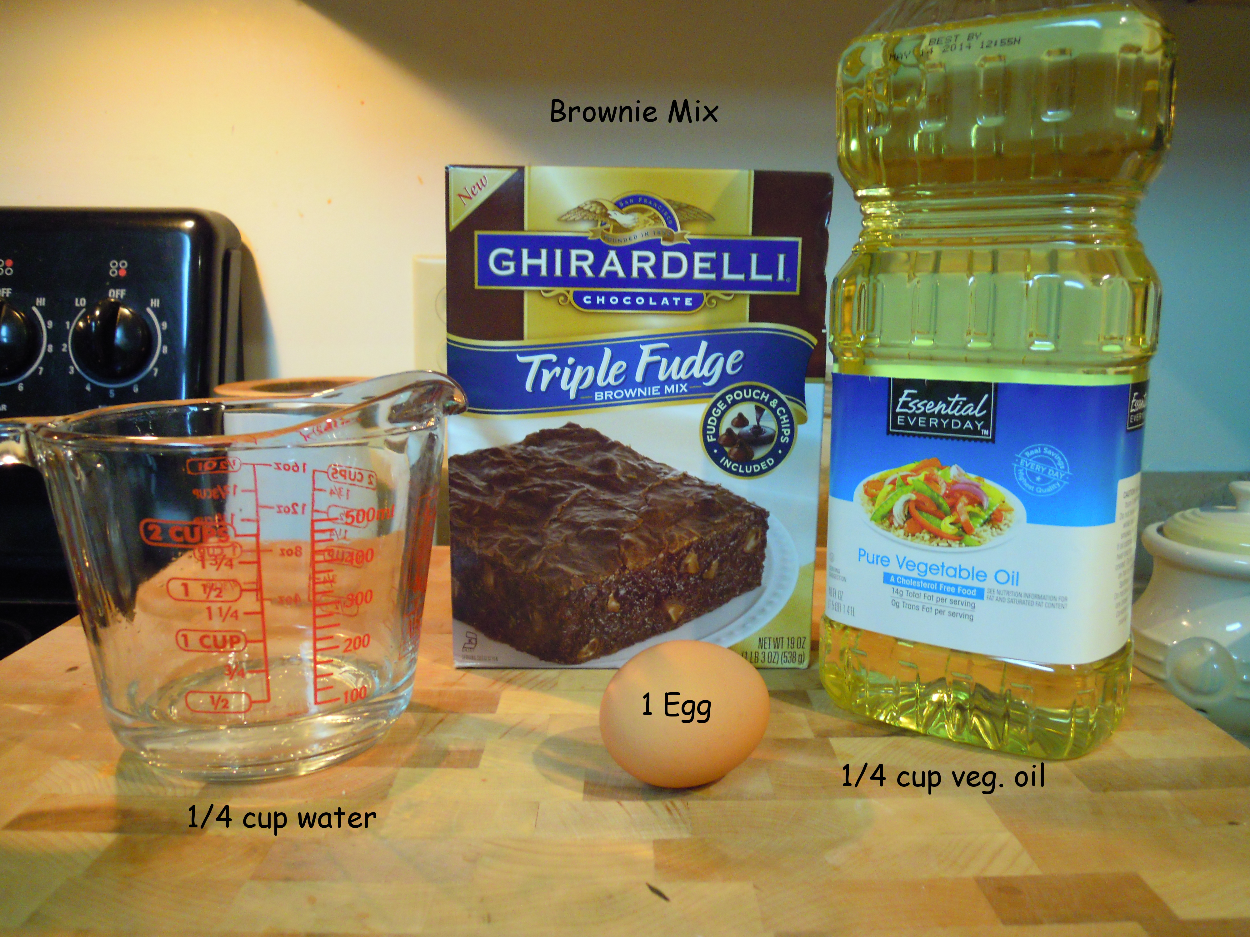 Mixed Review Ghirardelli Triple Fudge Brownies Domestic Quest