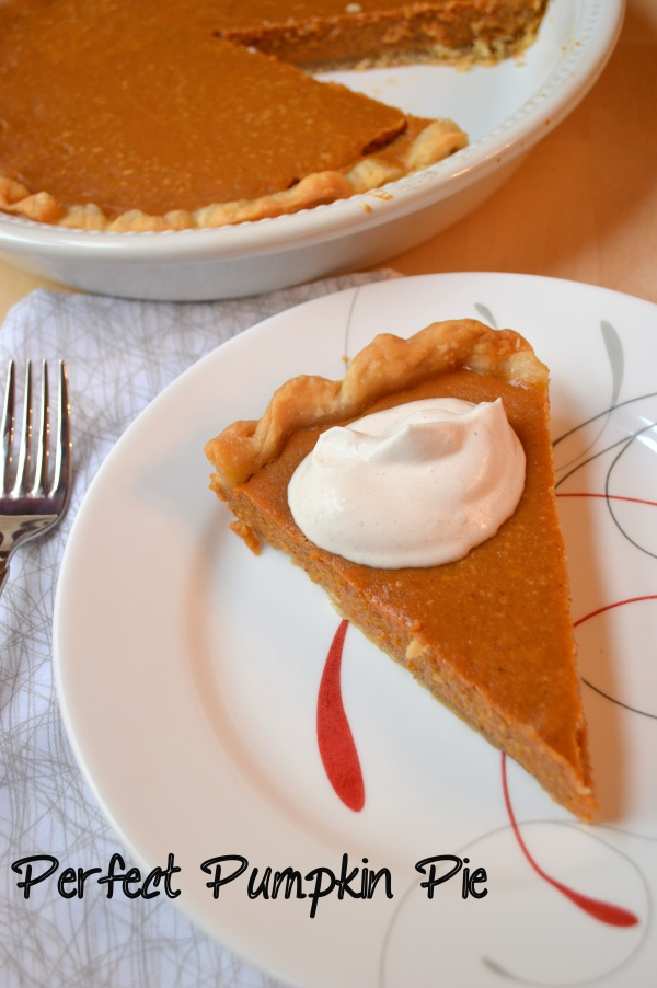 Domestic Quest- Perfect Pumpkin Pie